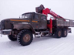 перегон грузовика
